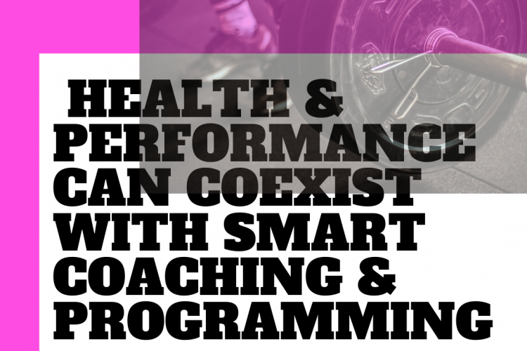 Health Vs Performance – Can both coexist?